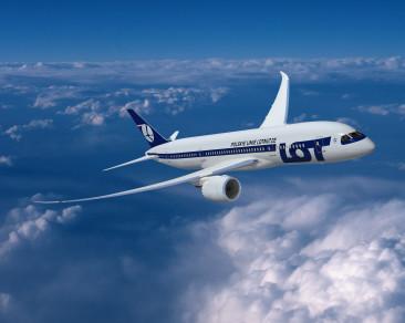 Flyg mellan Warszawa och Rom med Dreamliner