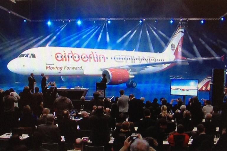 Utökat samarbete för Air Berlin och Etihad Airways