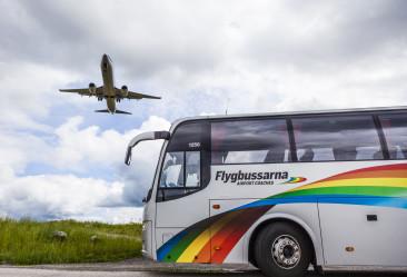 Ny flygbusslinje till Stockholm Arlanda Airport