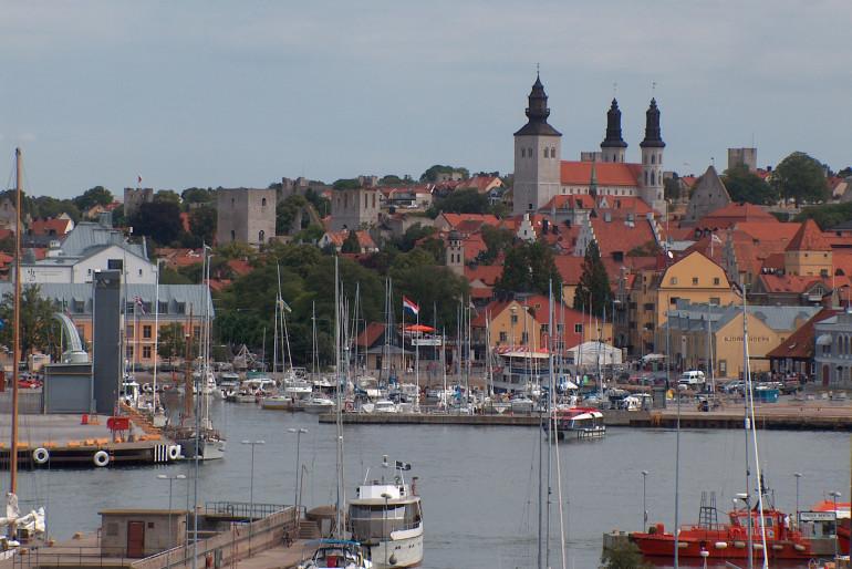 Res från Umeå till Visby i sommar