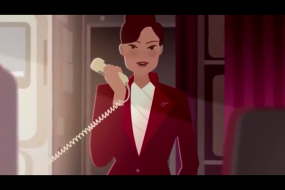 Virgin Atlantic släpper ny skämtsam säkerhetsvideo