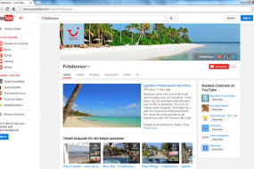 Interaktiv resmålsfilm om Mauritius från Fritidsresor