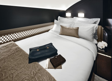 Flyg i lägenhet ombord på Etihad Airways
