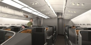 business cabin